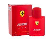Lozione post rasatura Ferrari Scuderia Ferrari Red 75 ml