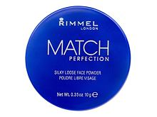 Cipria Rimmel London Match Perfection 10 g 001 Transparent