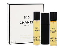 Eau de Toilette Chanel No.5 Twist and Spray 3x 20 ml 20 ml