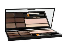 Paletta sopracciglia Makeup Revolution London Ultra Brow Palette 18,98 g Medium To Dark