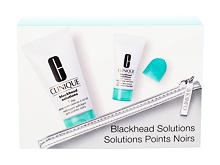 Gel detergente Clinique Blackhead Solutions 7 Day Deep Pore Cleanse & Scrub 30 ml Confezione regalo