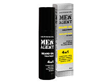 Olio da barba Dermacol Men Agent Beard Oil 4in1 50 ml