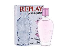 Eau de Toilette Replay Jeans Spirit! For Her 40 ml