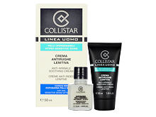 Crema giorno per il viso Collistar Men Anti-Wrinkle Soothing Cream 65 ml Confezione regalo