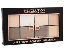 Cipria Makeup Revolution London Ultra Pro HD Powder Contour Palette 20 g Fair