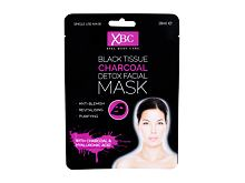 Maschera per il viso Xpel Body Care Black Tissue Charcoal Detox Facial Mask