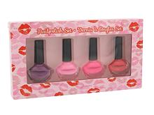 Smalto per le unghie 2K Nails With A Kiss 6 ml Confezione regalo