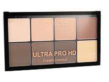 Cipria Makeup Revolution London Ultra Pro HD Cream Contour Palette 20 g Light Medium