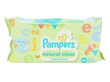 Salviettine detergenti Pampers Baby Wipes Natural Clean 64 pz