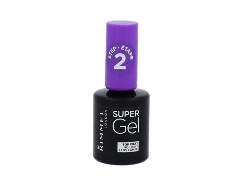 Smalto per le unghie Rimmel London Super Gel Top Coat 12 ml