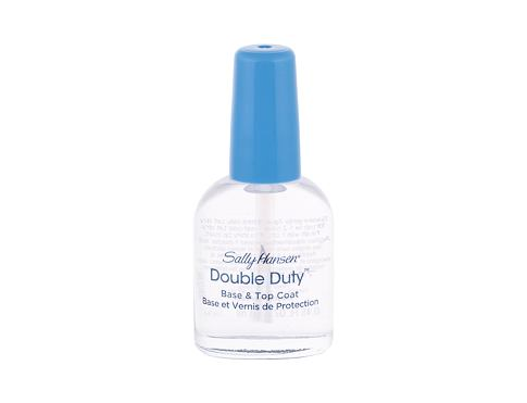 Cura delle unghie Sally Hansen Double Duty Strengthening Base & Top Coat 13,3 ml