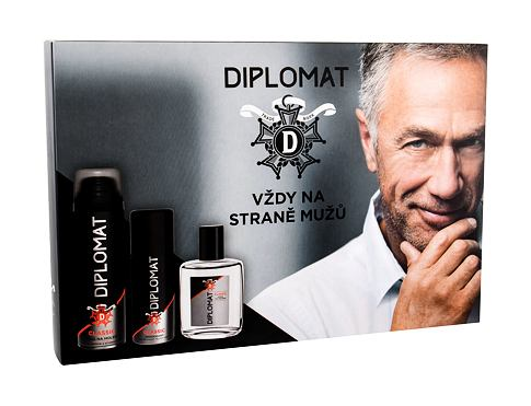 Aftershave Diplomat Diplomat 100 ml Confezione regalo