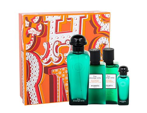 Acqua di colonia Hermes Eau d´Orange Verte 100 ml Confezione regalo