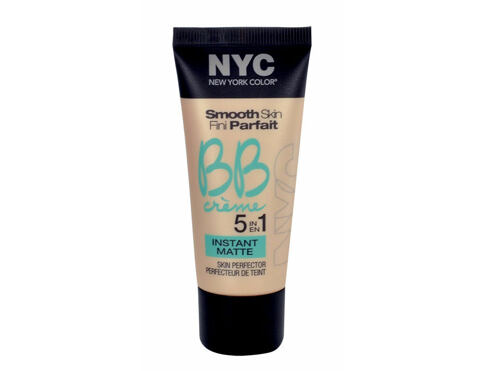 Crema BB NYC New York Color Smooth Skin Fini Parfait 5in1 Instant Matte 30 ml 01 Light