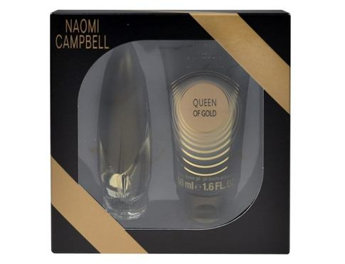 Eau de Toilette Naomi Campbell Queen Of Gold 15 ml Confezione regalo
