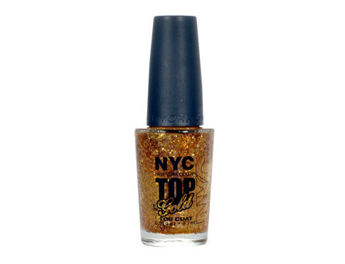 Smalto per le unghie NYC New York Color Top of the Gold 9,7 ml 010 Top of the Gold