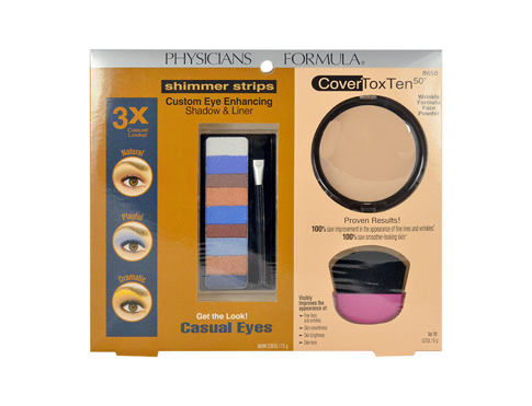 Ombretto Physicians Formula Casual Eyes 7,5 g Confezione regalo